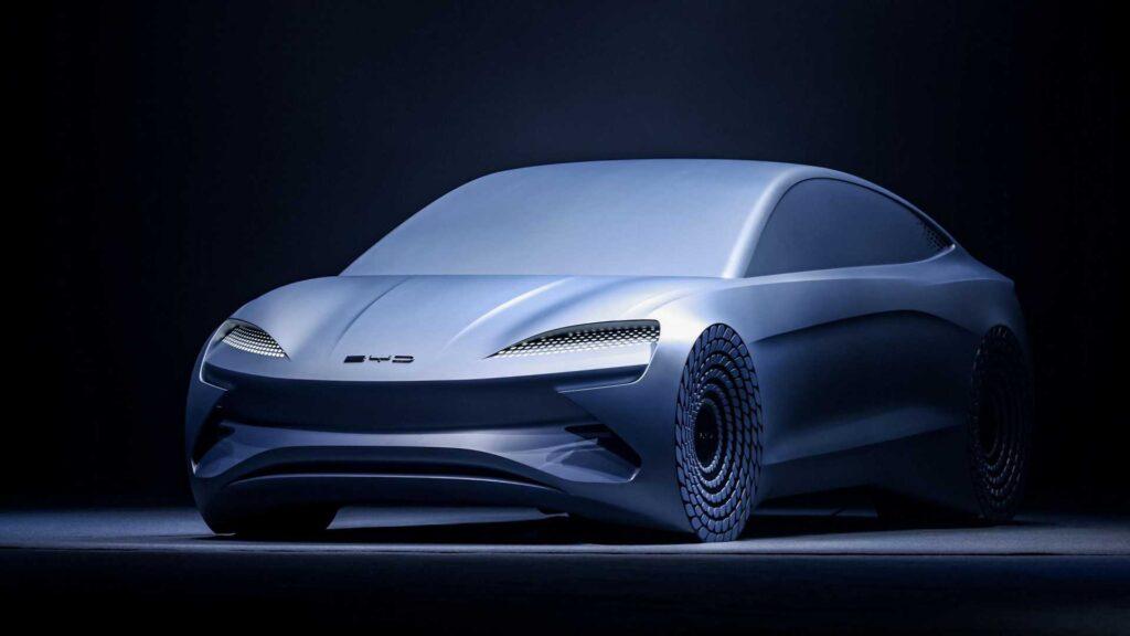 Концепт электромобиля BYD Ocean X