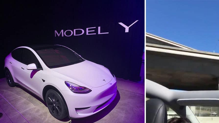 бракованный электромобиль Tesla