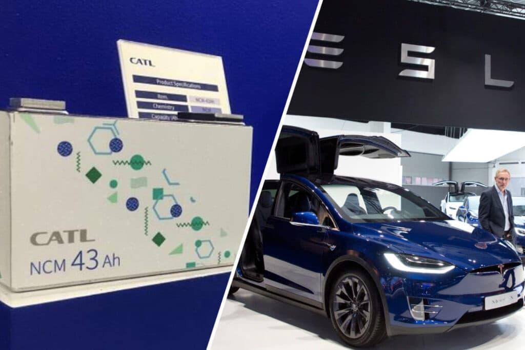 китайские батареи для электромобилей CATL