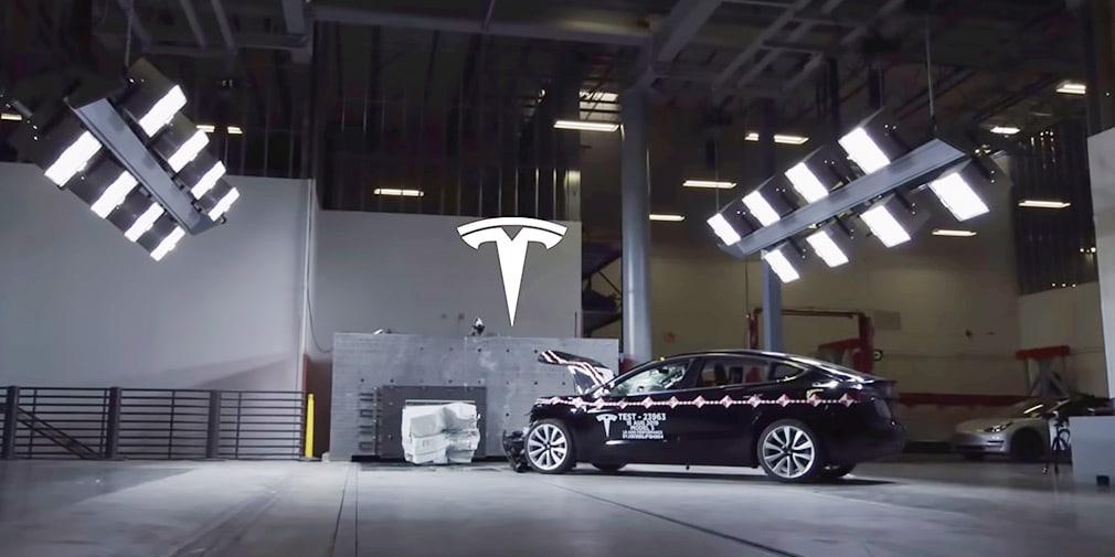 краш-тест секретная лаборатория Tesla