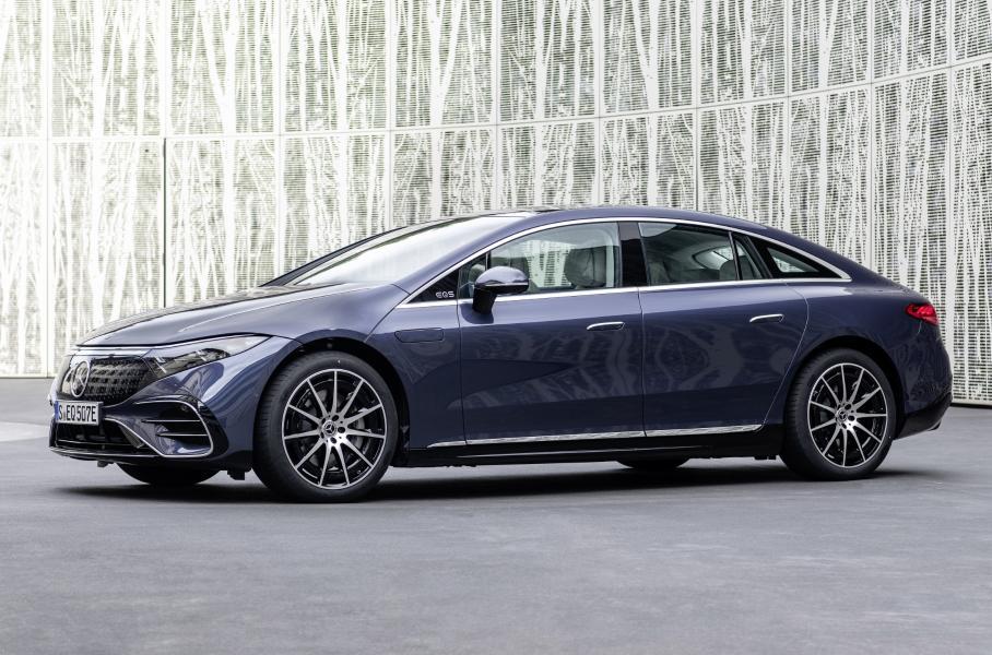 Mercedes-Benz EQS электромобиль для России