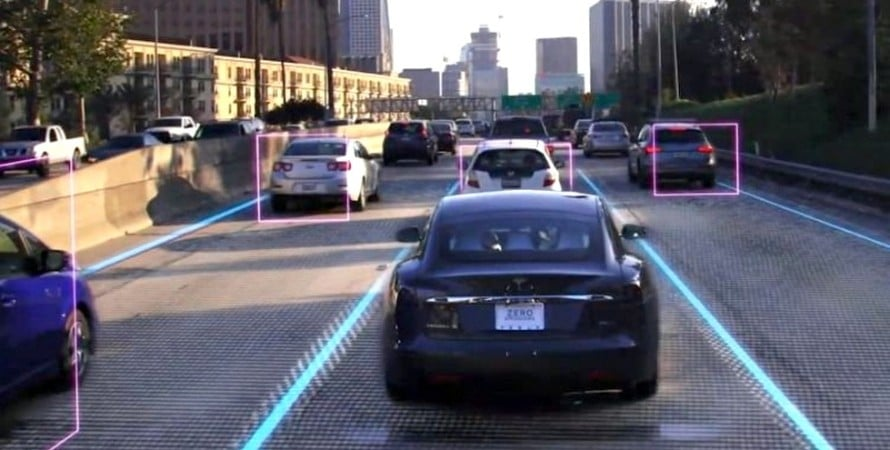 новый автопилот Tesla без радаров