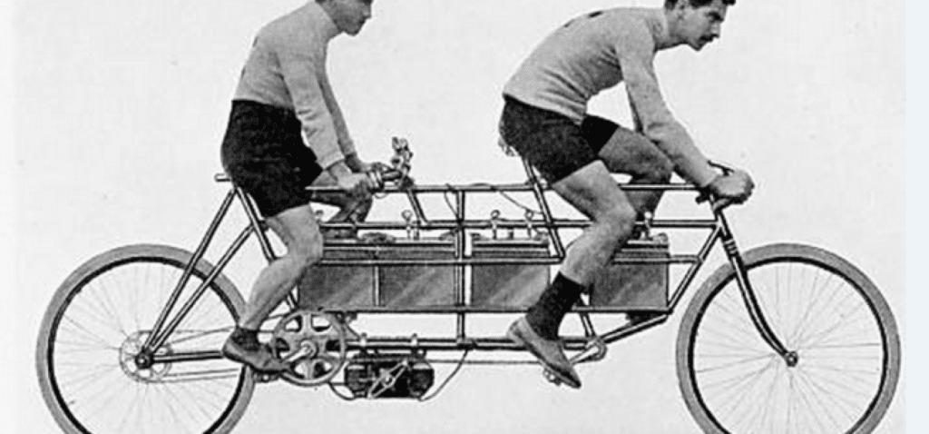 Первые электрические велосипеды