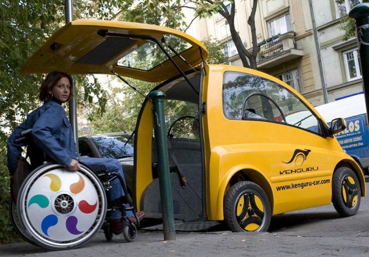 Автомобиль для инвалидов Kenguru