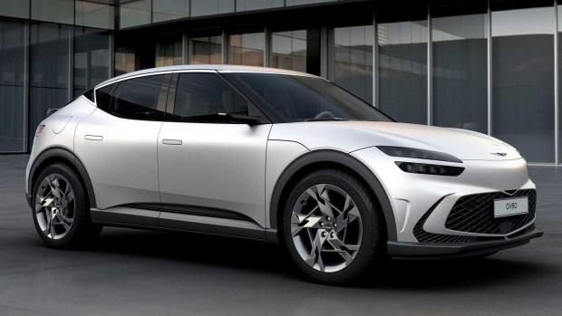 Премьера электромобиля Genesis GV60