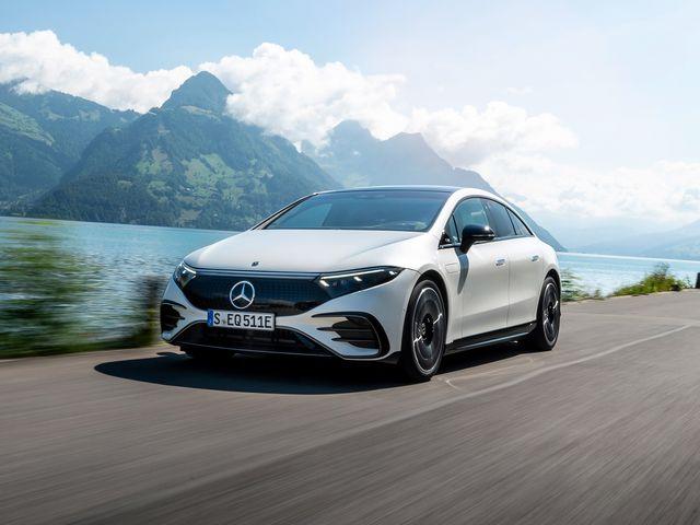 Электромобиль Mercedes-Benz EQS получил рейтинг EPA