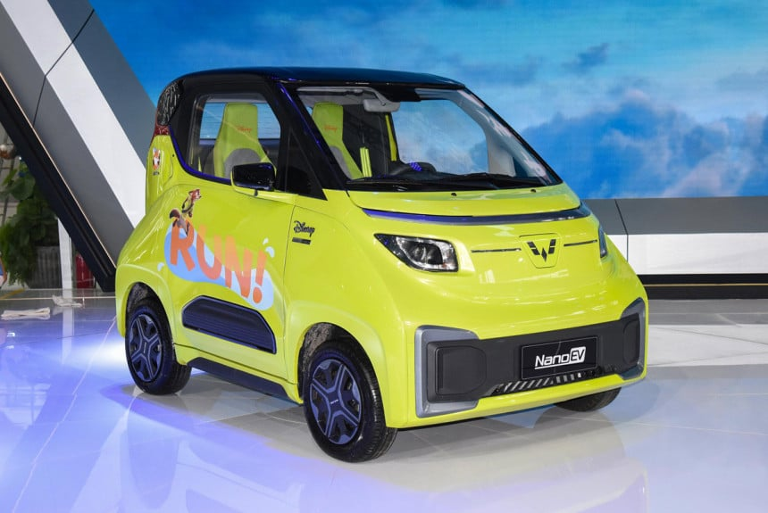 Электромобиль Wuling Nano EV