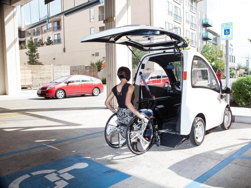Электромобили для инвалидов и пожилых людей