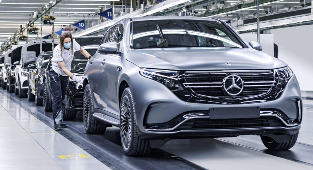 Электромобили Mercedes-Benz едут в Россию