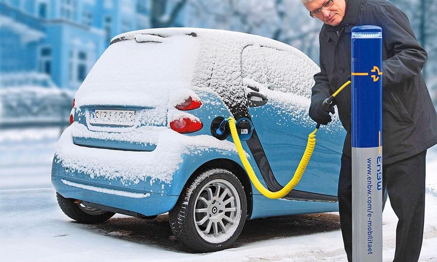 Особенности эксплуатации электромобиля зимой