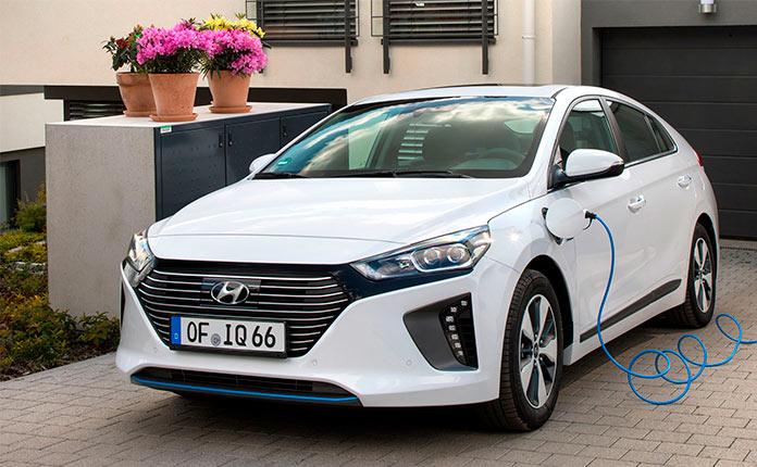 Плагин-гибрид Hyundai Ioniq
