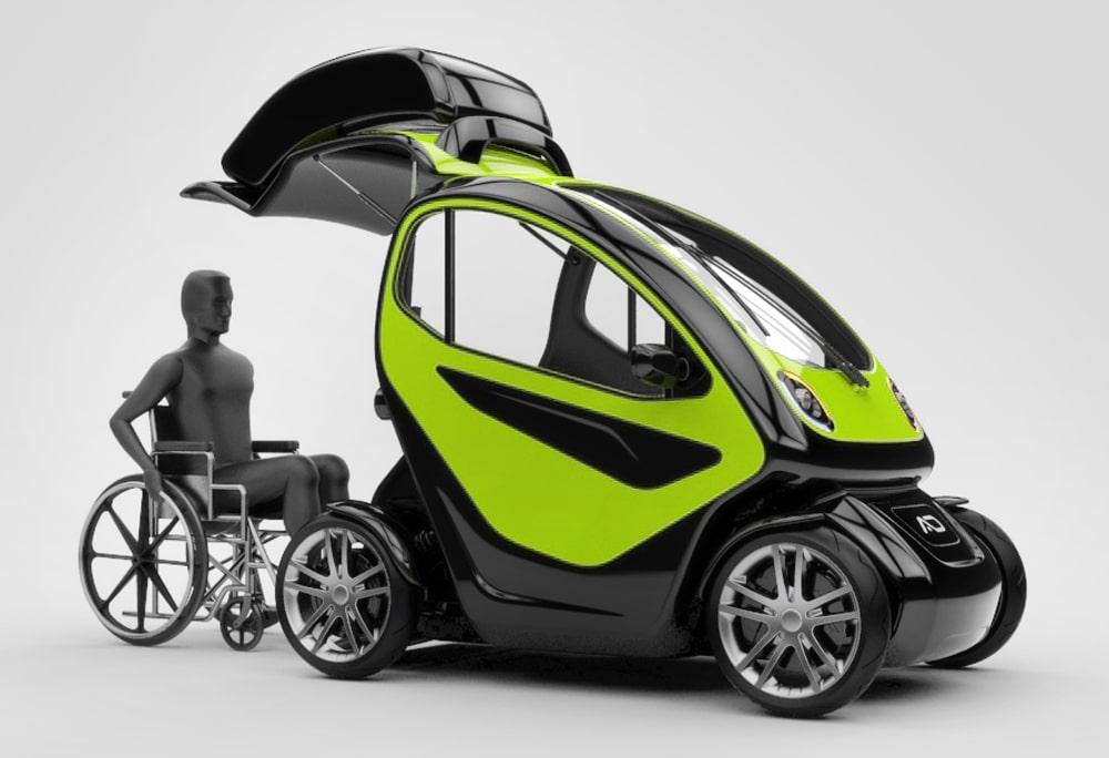 Преимущества электромобилей для инвалидов