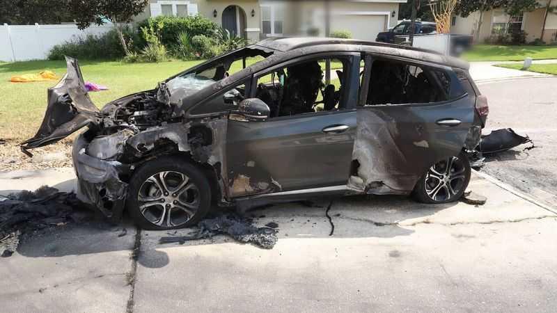 электромобиль Chevrolet Bolt брак