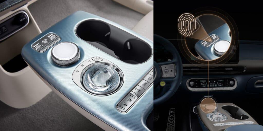 Электромобиль Genesis GV60 биометрия