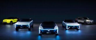 Honda показала 5 концептов электромобилей