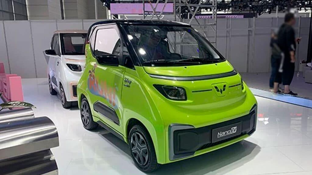 Wiling презентовал новый электрический Nano EV
